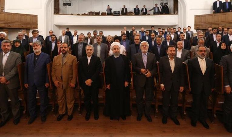 حمایت 170 نماینده مجلس از حسن روحانی