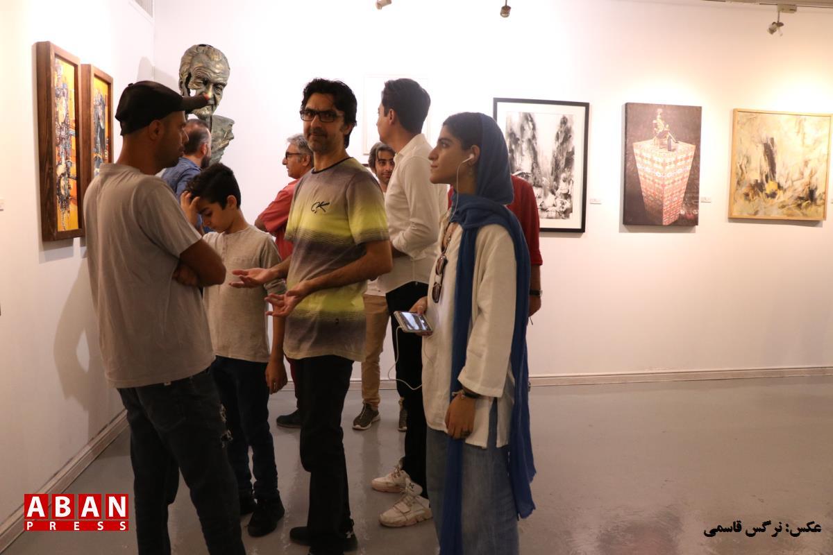 آلبوم عکس؛ گردهمایی ۱۰۰ تن از هنرمندان هنرهای تجسمی
