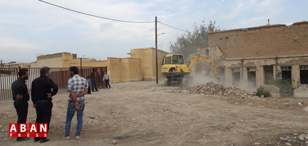 تخریب یک خانه دیگر در بافت تاریخی شیراز