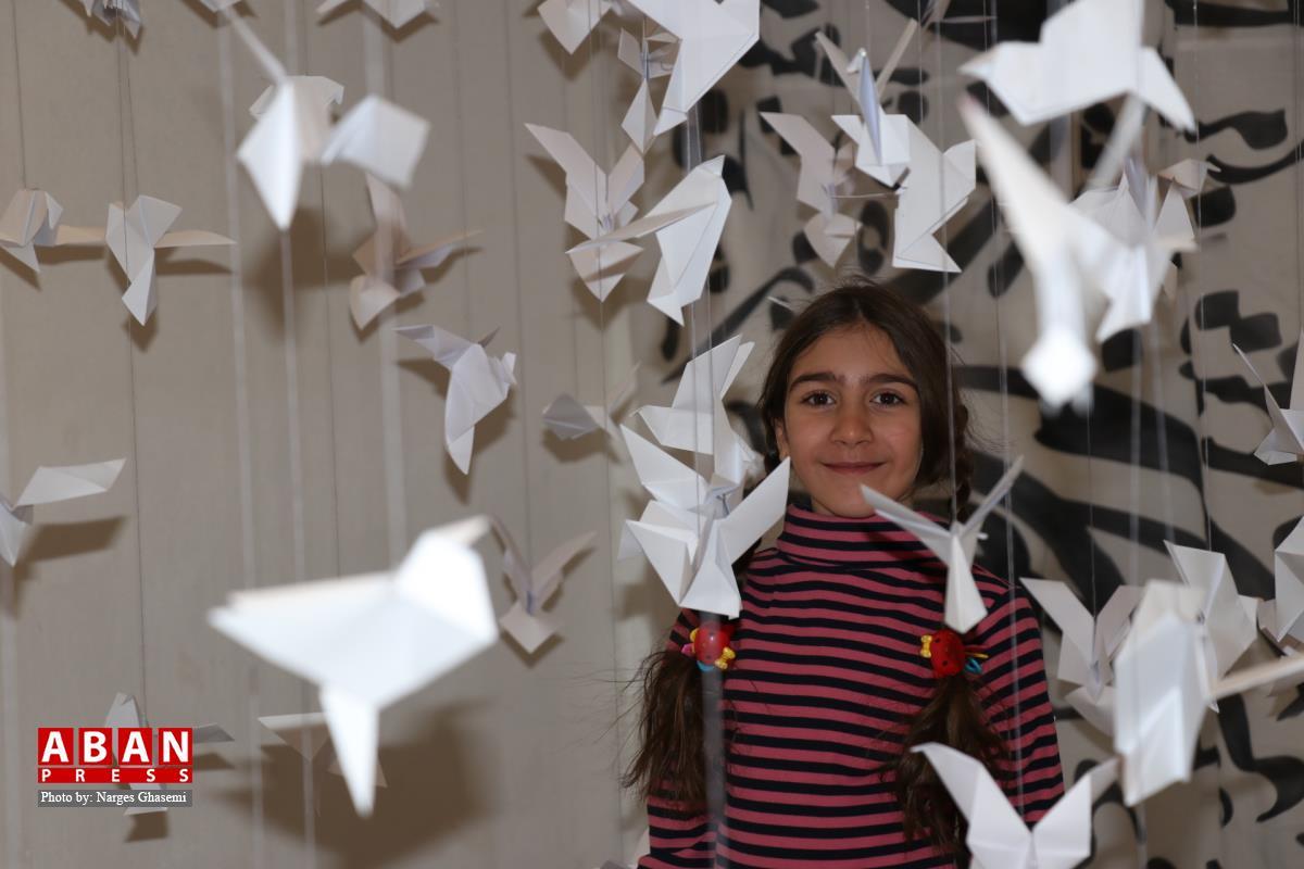 گشایش نمایشگاه «کودکان در تکاپوی صلح» در شیراز