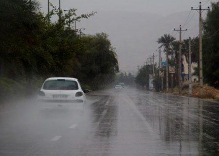 حدود ۱۷۰ میلیمتر باران طی ۲۴ ساعت در فارس بارید