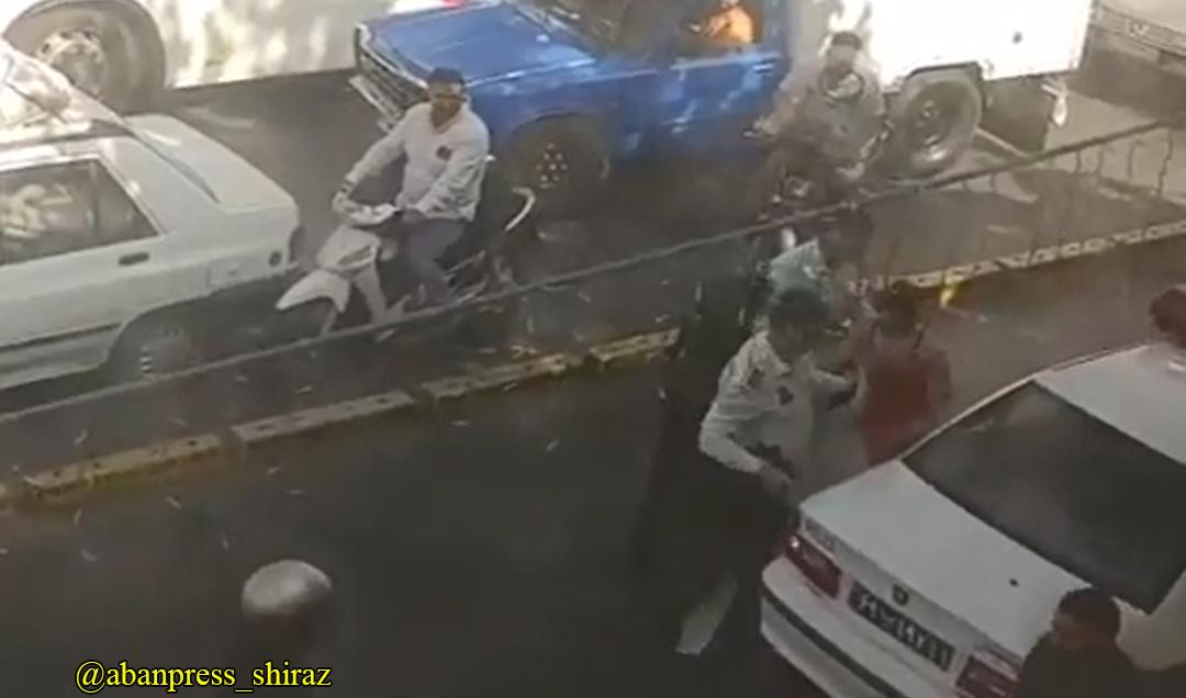 بازداشت یک زن در شیراز؟