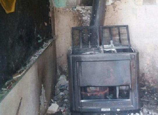 دانشآموزان از آتشسوزی در کلاس درس جان سالم به در بردند