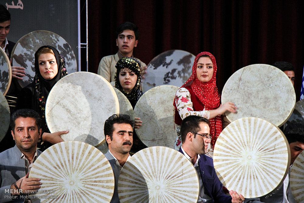 آلبوم عکس؛ جشنواره دفنوازی در کردستان