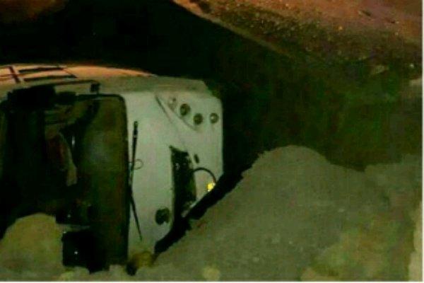 واژگونی اتوبوس در یزد ۳ کشته بر جای گذاشت