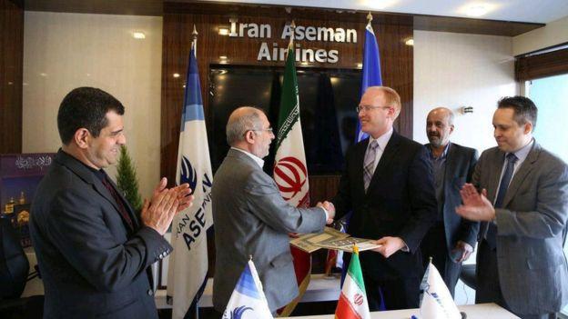 شرکت آسمان و بوئینگ برای فروش ۳۰ هواپیما به ایران به ارزش ۳ میلیارد دلار تفاهم کردند