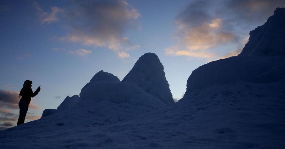 آلبوم عکس؛ مناظر زمستانی در کشورهای مختلف