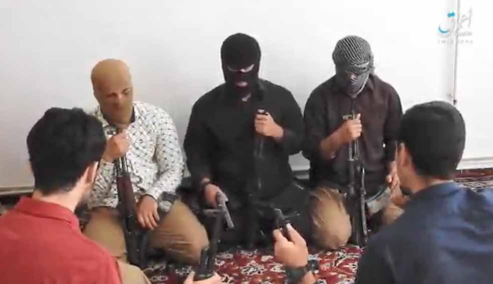 داعش ویدیوی «مهاجمان حملات تروریستی تهران» را منتشر کرد