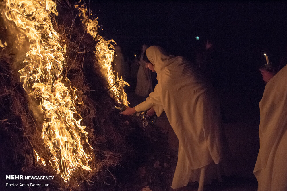 جشن باستانی سده در شیراز برگزار شد