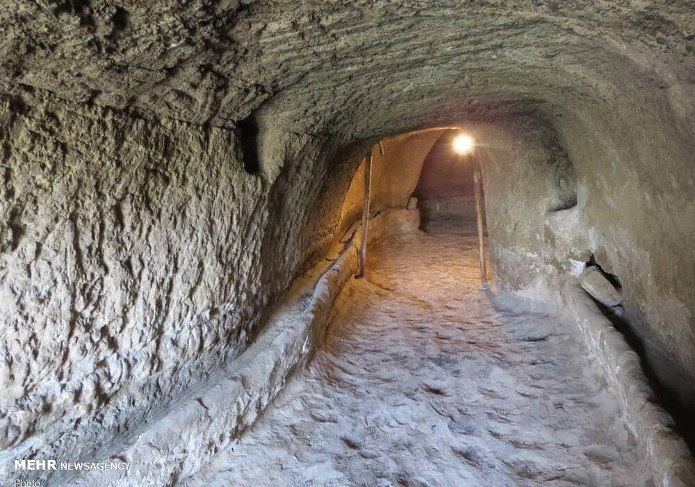 ظرفیت دستکندهای ۱۸۰۰ ساله شهر باستانی «خرمی» برای جهانی شدن