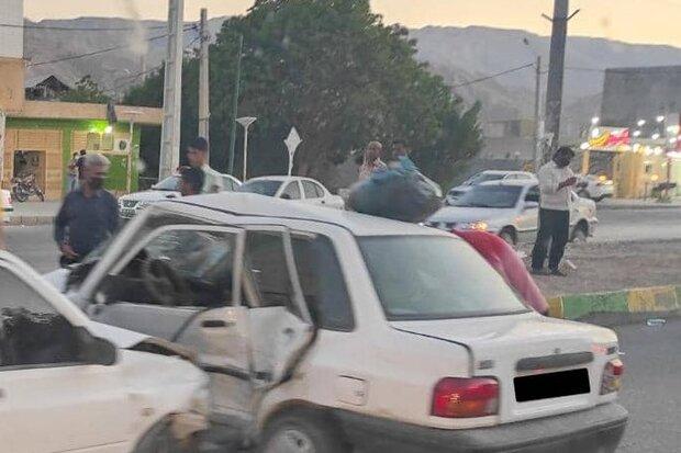 حوادث رانندگی در لامرد ۱۰ مصدوم برجا گذاشت