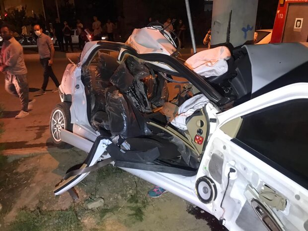 سه نوجوان ۱۵ ساله در سانحه رانندگی در شیراز کشته شدند