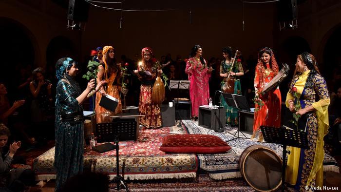"""فستیوال """"آواز زنان ایران"""" در برلین پایان یافت"""