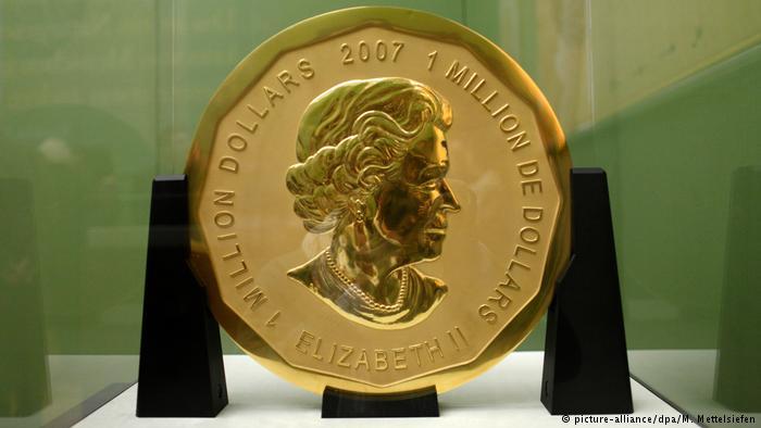 سکه طلای ۱۰۰ کیلویی از موزه برلین به سرقت رفت