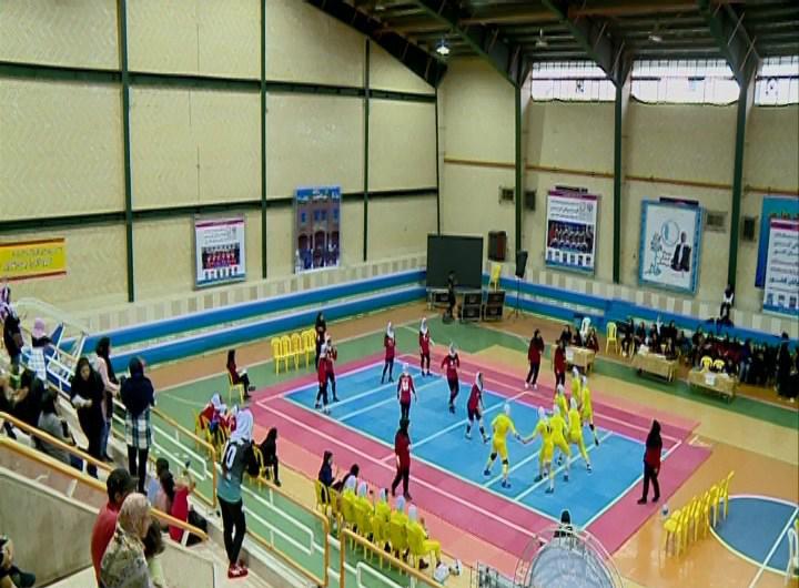پایان مسابقات کبدی قهرمانی دختران در شیراز