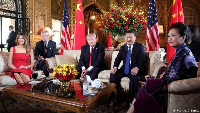 دیدار میان سران دو قدرت بزرگ جهان؛ چین و آمریکا