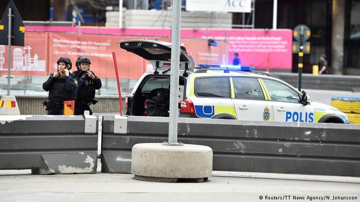 حمله با کامیون به سمت عابران پیاده در استکهلم، پایتخت سوئد