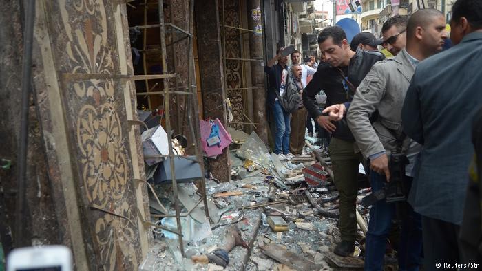 بیش از ۴۰ کشته در پی سوءقصد به دو کلیسا در مصر
