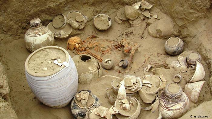 چگونگی دفن ساکنان فلات ایران در پنج هزار سال پیش