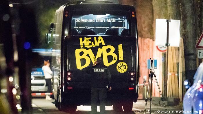 دستگیری فرد مظنون به حمله به اتوبوس تیم بورسیا دورتموند