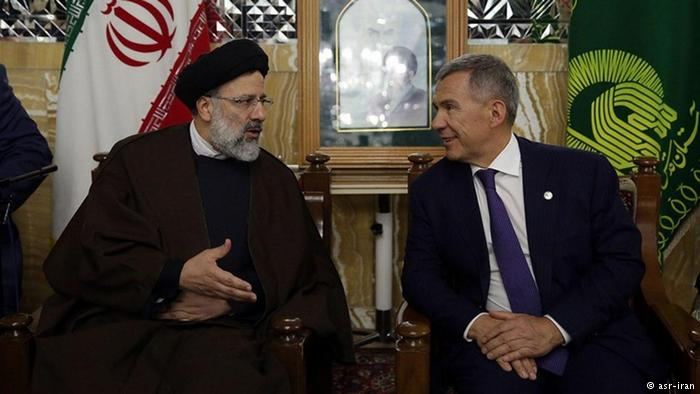 دیدار ابراهیم رئیسی با نماینده ویژه پوتین