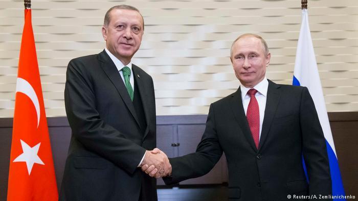 همکاری پوتین و اردوغان برای ایجاد مناطق امن در سوریه