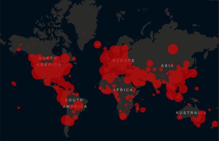 تعداد مبتلایان به کرونا در جهان از مرز شش میلیون و ۵۰۰ هزار نفر گذشت