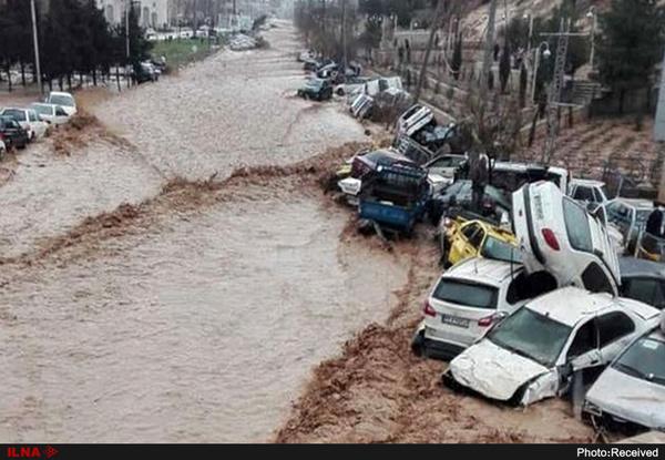 تصرف حریم رودخانه؛ عامل اصلی سیل شیراز