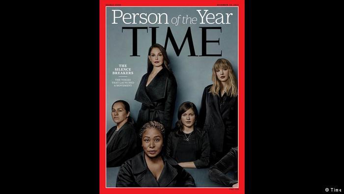 شخصیت سال مجله تایم: زنانی که سکوت را شکستند