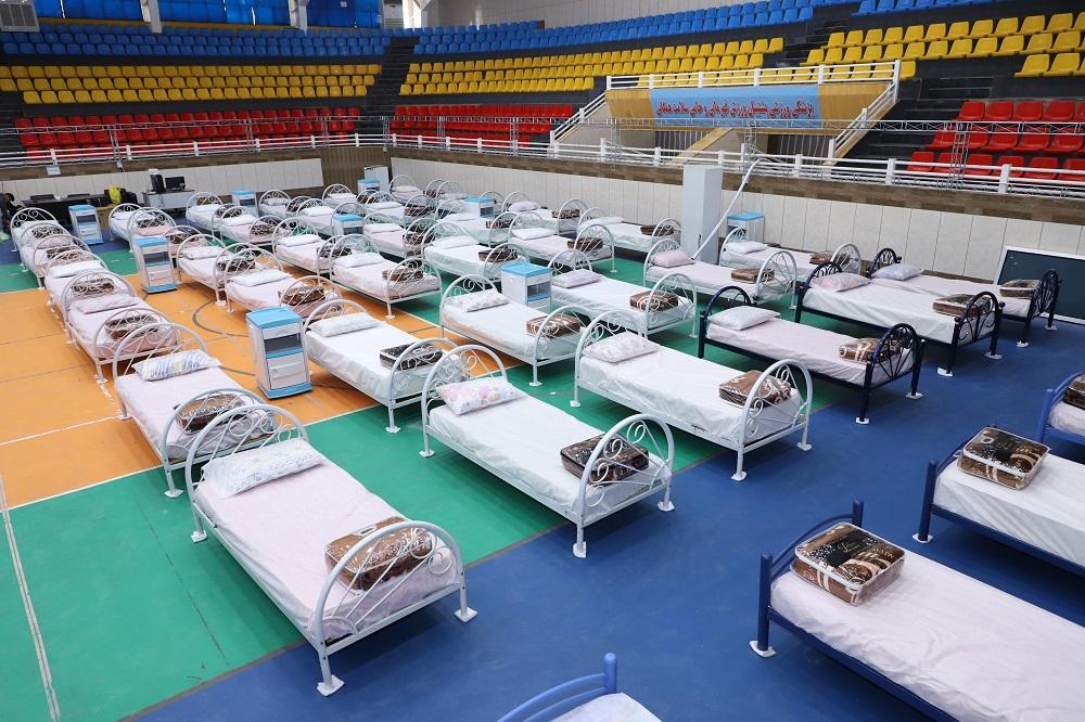 نقاهتگاه ۱۰۰ تختخوابی بیماران مبتلا به کرونا در شیراز