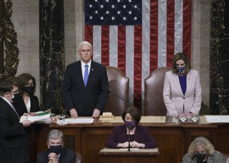 کنگره آمریکا پیروزی جو بایدن در انتخابات ریاست جمهوری را تایید کرد