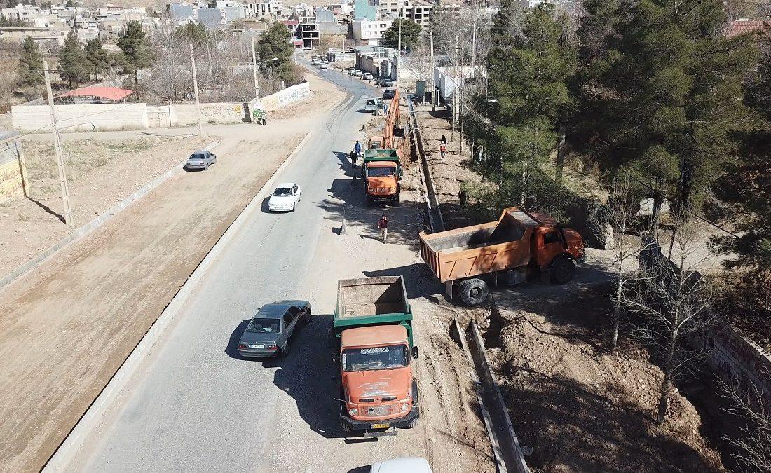 توسعه شمال غرب شیراز با اجرای ۴۰ طرح عمرانی