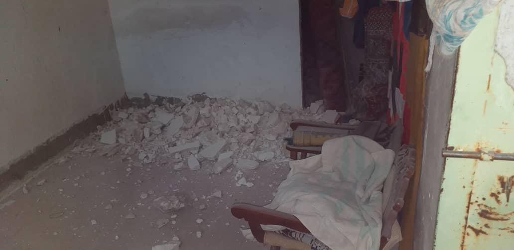 آسیب به ۳۵۰ واحد مسکونی در زلزله جنوب فارس