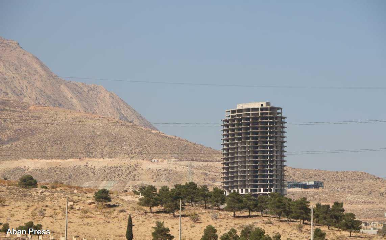 برج سازی در دامنه کوه دراک شیراز