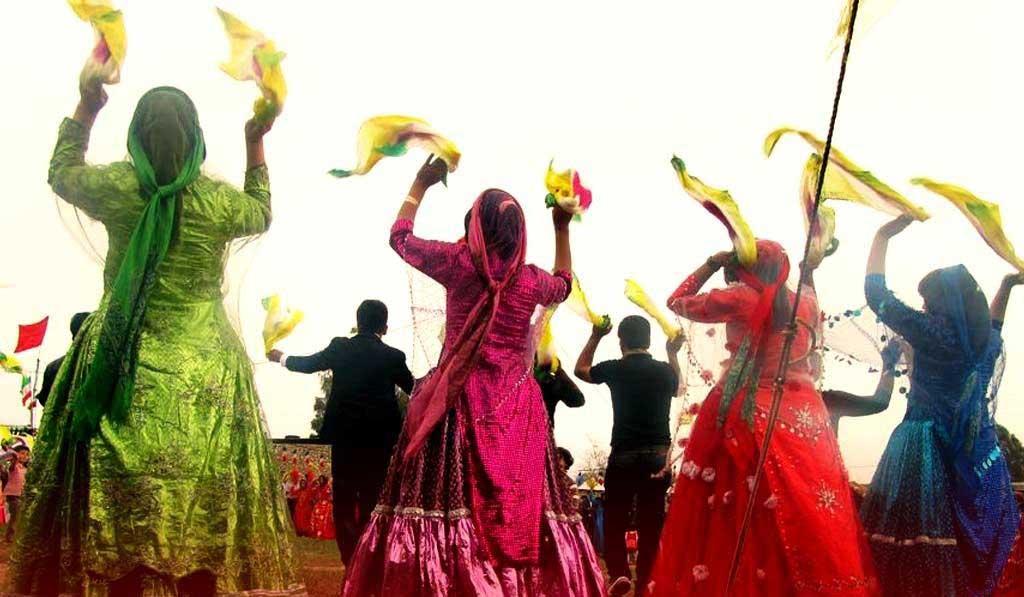 آیین سنتی رقص قشقایی