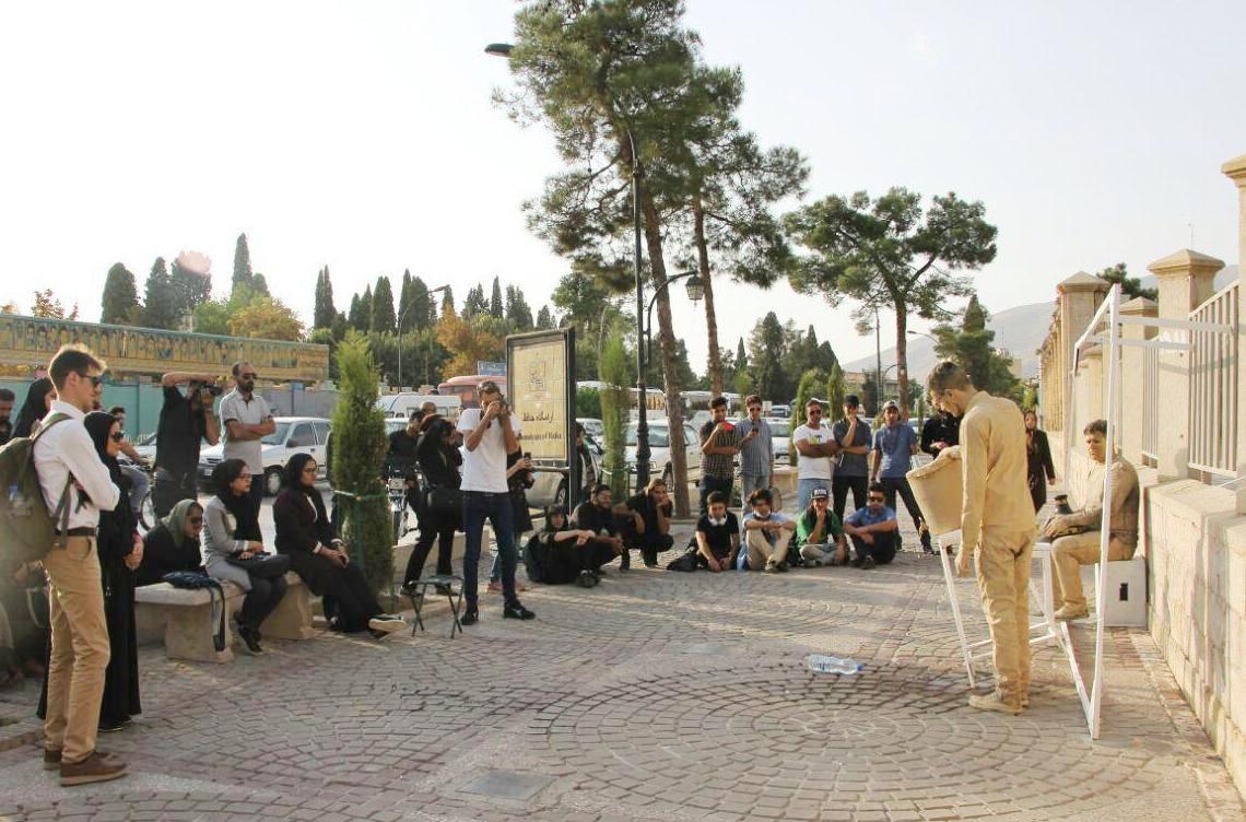 اجرای نمایش «خشکسالی» در شیراز