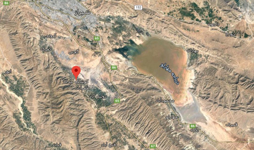 اعتراض روستاییان به صدور مجوز حفر چاه  در کوشک بیدک شیراز