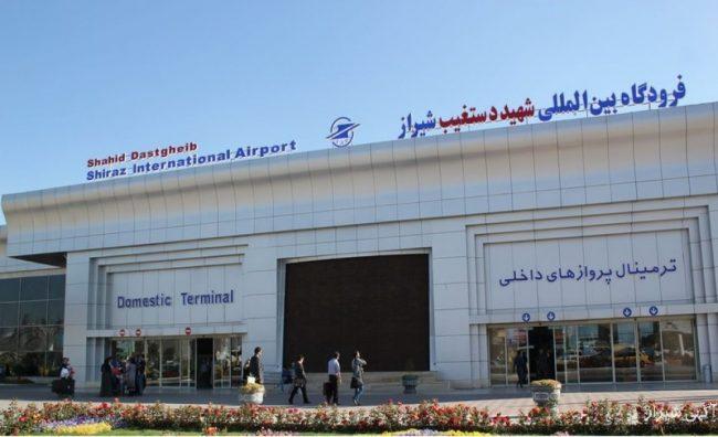 آیا موتور هواپیما در شیراز منفجر شده؟
