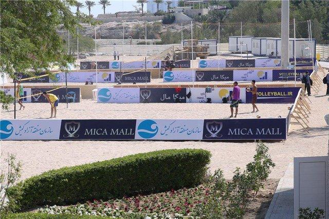 ورود بانوان برای تماشای تور جهانی والیبال ساحلی کیش آزاد شد