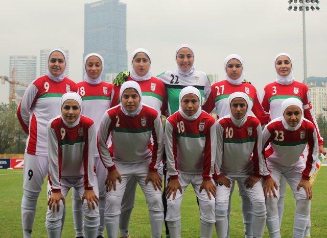 تیم ملی فوتبال بانوان ایران تیم سنگاپور را شکست داد