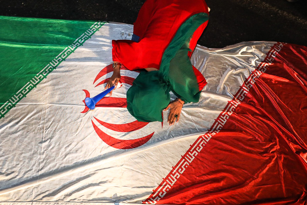 آلبوم عکس؛ جشنهای خیابانی در پی صعود ایران به جام جهانی