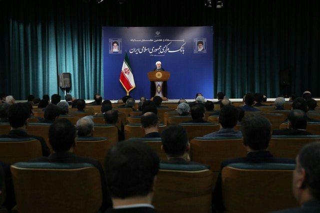 """روحانی: ضربه زدن به ملت به بهانه مخالفت با دولت """"بر مبنای کمعقلی است"""""""