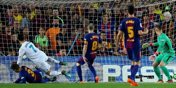 تساوی بارسلونا و رئال مادرید در الکلاسیکو