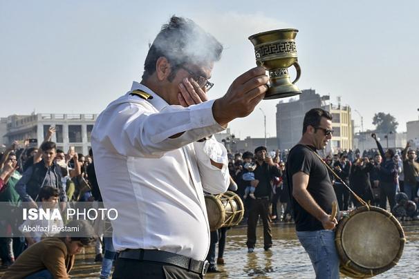 سوگ خلیج فارس برای دریانوردان سانچی