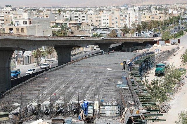 تلاش شهرداری شیراز برای تکمیل پنج تقاطع