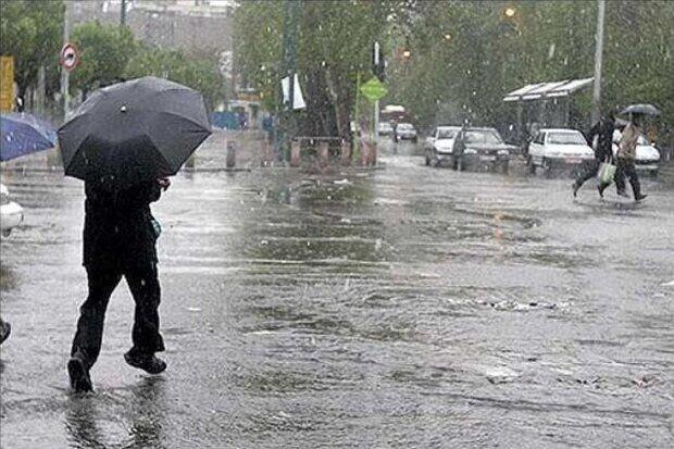افزایش بارشها در فارس طی ساعات آینده