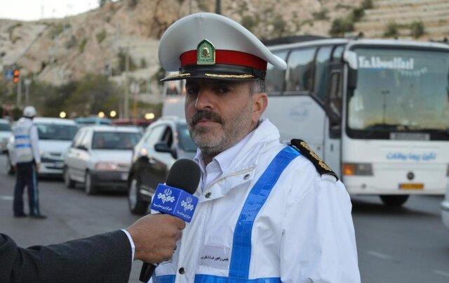 برخورد پلیس فارس با اجاره دهندگان پلاک خودرو