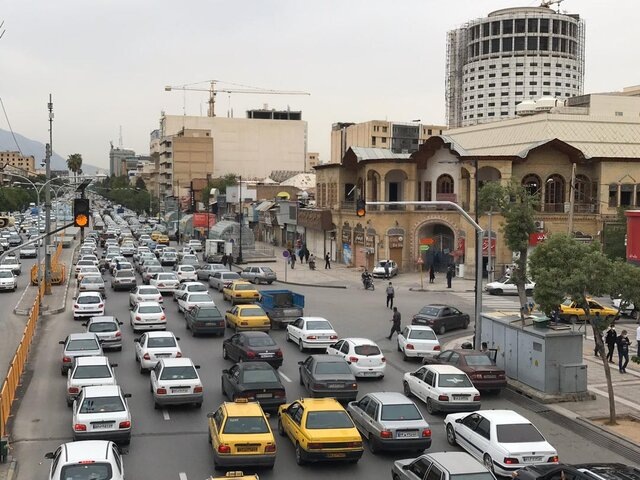 بازگشت ترافیک به شیراز