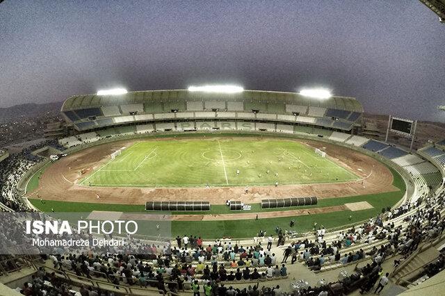 تشریح آخرین وضعیت ورزشگاههای بزرگ شیراز