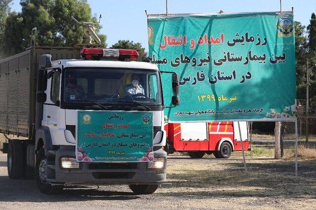 مانور ارتش در فارس با هدف مقابله با بحرانهای طبیعی و غیرطبیعی